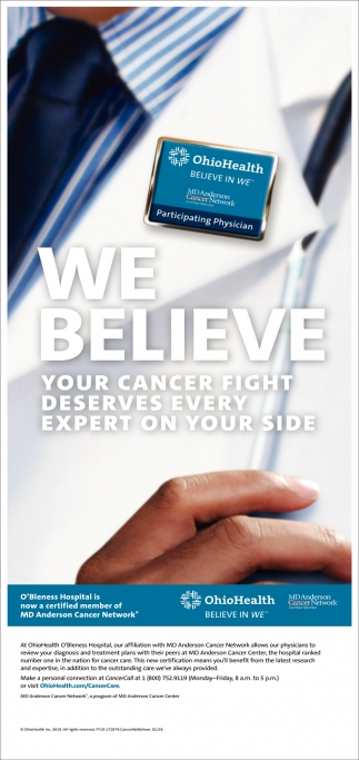 Your cancer fight deserves every expert on your side