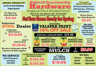 Everyday Loe Prices & Old Fashioned Services