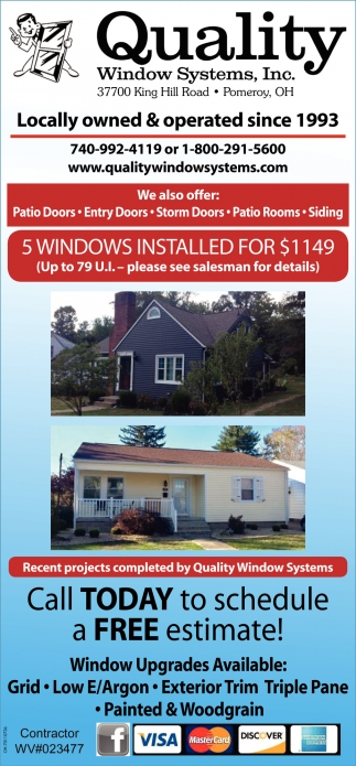 5 Windows installed for $1149