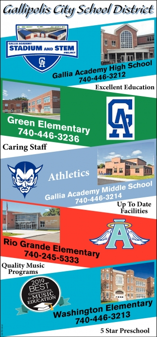 Excellent Education- Caring Staff - Quality Music Programs - Up To Date Facilities