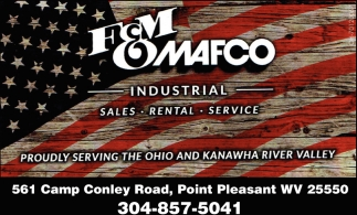 Proudly Serving the Ohio & Kanawha River Valley