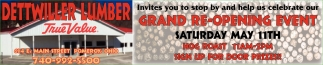 Grand Re - Opening Event