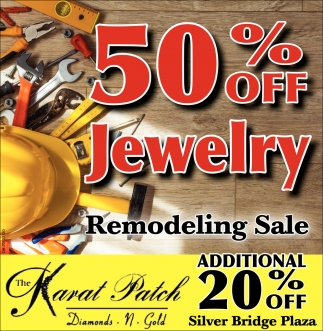 50% off Jewelry - Remodeling Sale