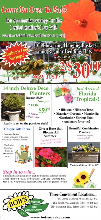 Spectacular Savings On the Perfect Mother's Day Gift!
