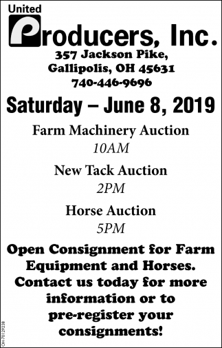Auction June 8