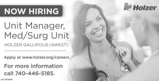 Unit Manager