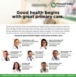 Good health begins with great primary care