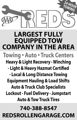 Largest Fully Equipped Tow Company In The Area