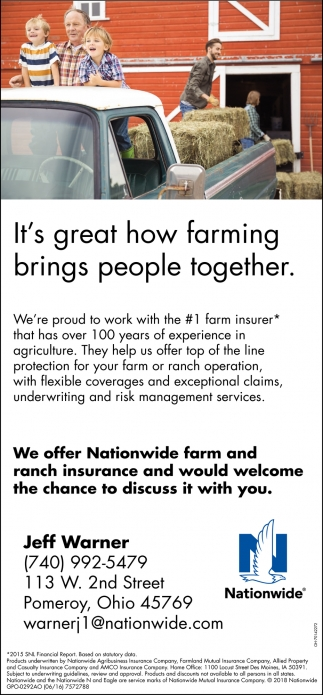It's great how farming brings people together