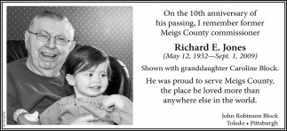 Richard E. Jones - On the 10th anniversary of his passing