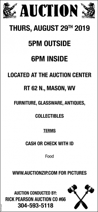 Large Auction - August 29th