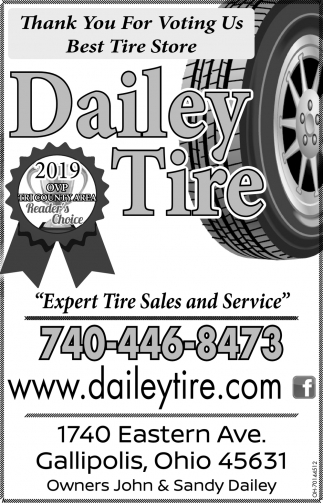 Thank You For Voting Us Best Tire Store