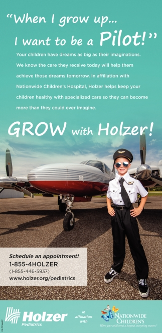 Holzer helps keep your children healthy with specialized care