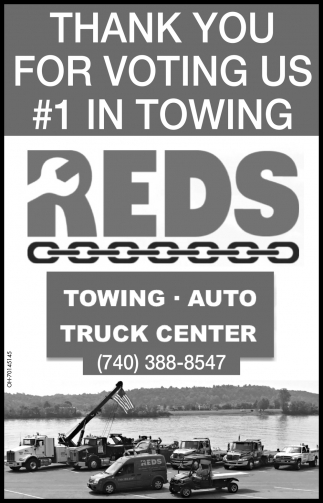 Thank you for voting us #1 in towing