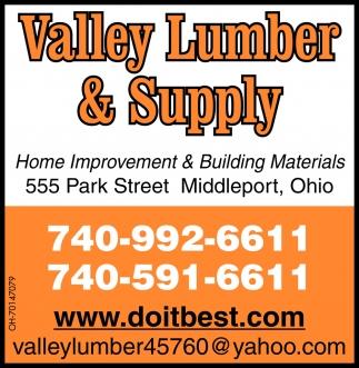 Home Improvement & Building Materials