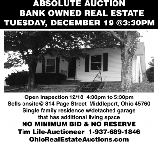 Absolute Auction Real Estate