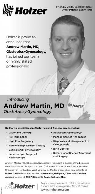Andrew Martin, MD, Obstetrics/Gynecology