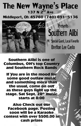 Presents Southern Alibi