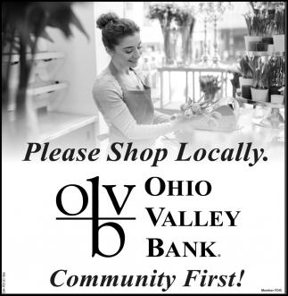 Please Shop Locally