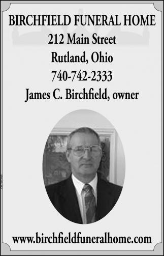 James C. Birchfield, owner