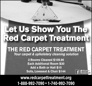 Let Us Show You The Red Carpet Treatment