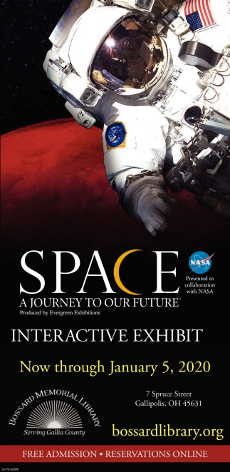Space - A Journey to Our Future - Interactive Exhibit