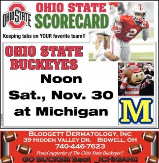 Ohio State Scorecard