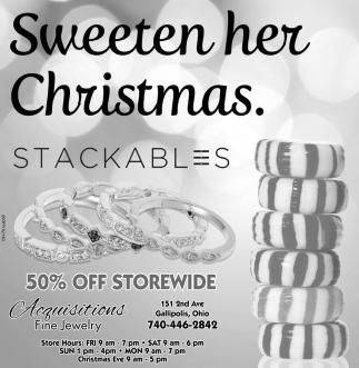 Sweeten her Christmas