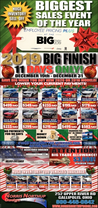 Biggest sales event of the year