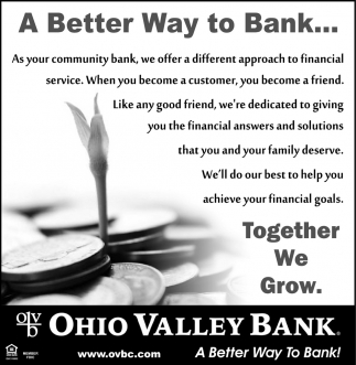 A Better Way to Bank
