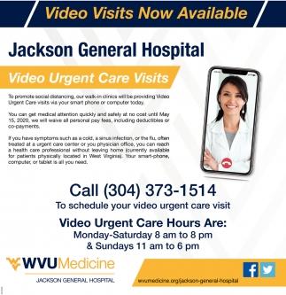 Video Urgent Care Visits