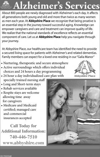 Alzheimer's Services