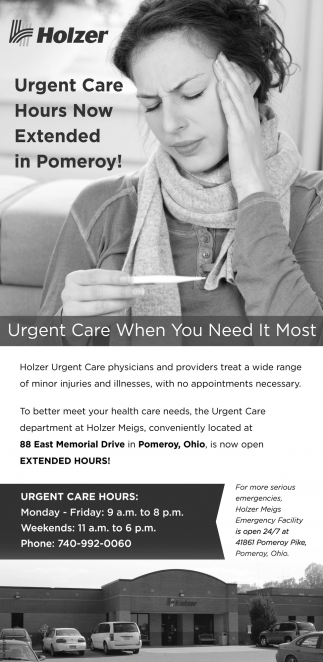 Urgent Care When you Need It Most