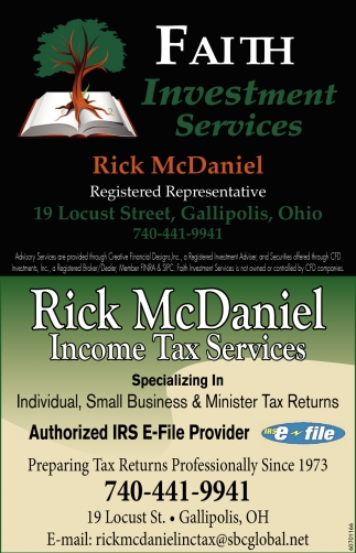 Investment & Tax Services