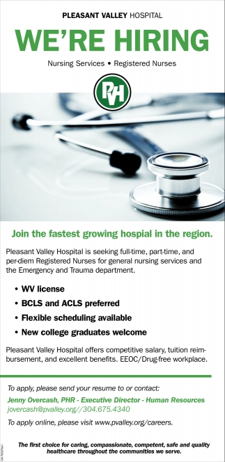 Nursing Services, Registered Nurses
