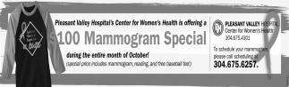 $100 Mammogram Special