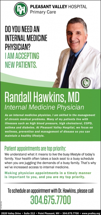 Randall Hawkins, MD