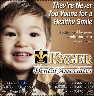 They're Never Too Young for a Healthy Smile
