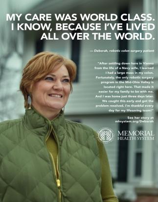 Deborah, Robotic Colon Surgery patient