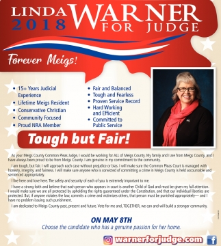 2018 Linda Warner for Judge