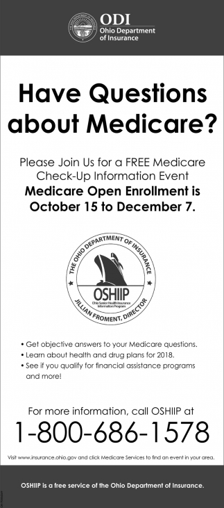 Have Questiona about Medicare?