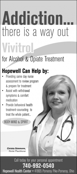 Vivitrol for Alcohol & Opiate Treatment