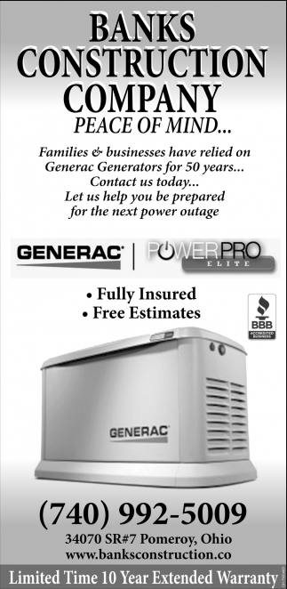 Generac Generators for 50 years