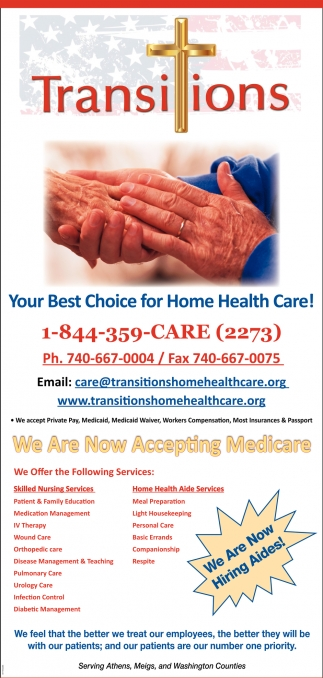 Your Best Choice for Home Health Care!
