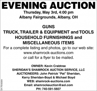 Evening Auction