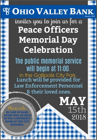 Peace Officers Memorial Day Celebration