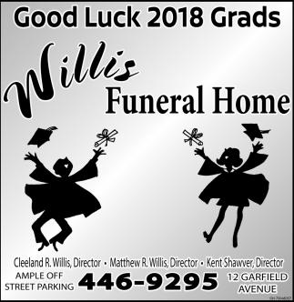 Good Luck 2018 Grads