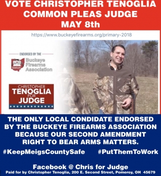 Christopher Tenoglia for Judge