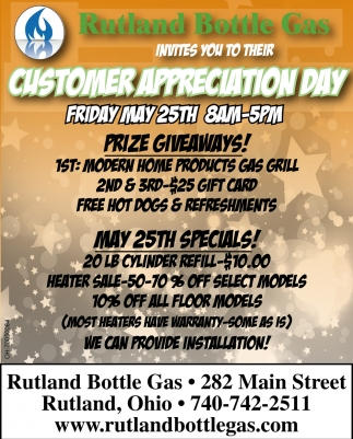 Customer Appreciation Day