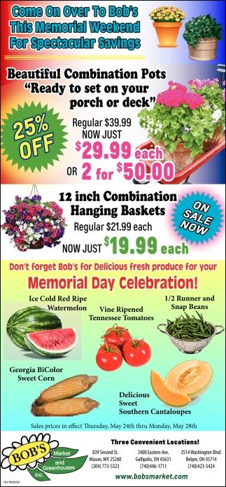 Memorial Weekend Savings